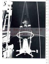 ORIGINAL PRESSEFOTO: 1957 RAKETE ZUM MOND SATELLIT PIONER III in JUNO  von BRAUN