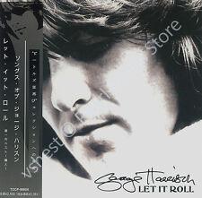 GEORGE HARRISON LET IT ROLL: SONGS BY GEORGE HARRISON CD MINI LP OBI Beatles new