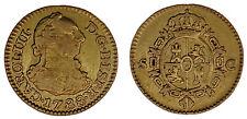 1/2 GOLD ESCUDO - ORO. CHARLES III SEVILLE - CARLOS III SEVILLA. 1788. VF/MBC.