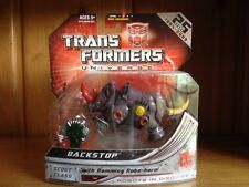 Transformers Universe (Cybertron) Scout Class Backstop 100% Complete