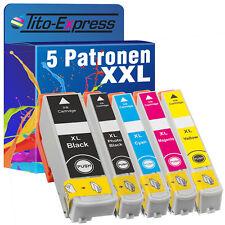 5x Tinten-Patrone ProSerie für Epson TE-33XL Expression Premium XP-530 XP-630