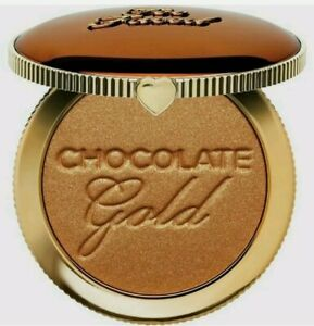 TOO FACED CHOCOLATE GOLD SOLEIL GILDED BRONZER Luminous Full Size