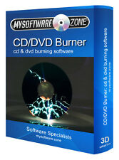 DVD CD Burner Burning Copy Create Backup Clone Edit Ripper Software Suite