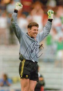 Football - Pat Bonner - Hand Signed 12x8 Photograph - Republic of Ireland COA