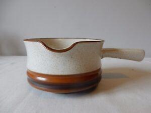 Vintage Denby Potters Wheel Sauce Boats or Soup Bowls Rare 70s/80s Excellent