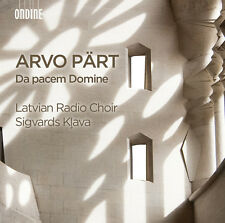 Part / Latvian Radio - Arvo Part: Da pacem Domine [New CD]