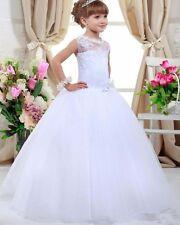 2020 First Communion Dresses Flower Girl Dresses For Weddings Kids Beauty Pagean