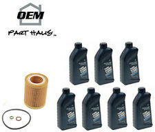 7-Quarts Genuine BMW Synthetic Motor Oil 5W30 Twin Turbo 07510017866 Mann filter