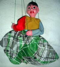 Vintage Chalkware Marionette Puppet Mexican Senorita Mamacita Nice Look L4