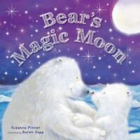 Bear's Magic Moon Paperback Parent Child Bedtime reading book (Picture Flats - I