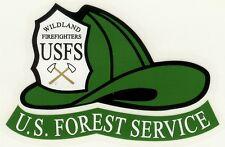 NEW 3 FOREST SERVICE FIRE HELMET STICKER DECALS NEW