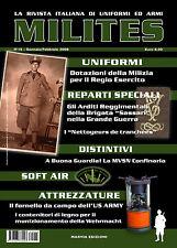 MILITES n15 - rivista militaria magazine Brig. Sassari  MVSN US Army Wehrmacht