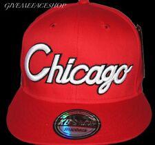 RETRO VINTAGE CHICAGO SNAPBACK CAP, FLAT PEAK FITTED HATS HIPHOP TYGA, BASEBALL
