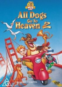 All Dogs Go To Heaven 02 DVD (PAL, 2007) Free Post
