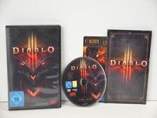 2 ) PC Spiel - Diablo III (PC/Mac, 2012, DVD-Box) im Bestzustand