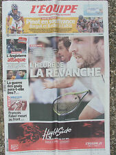 L'Equipe du 8/7/2015 - Tour de France : Pinot - Bardet - Wimbledon - Fr. Faber
