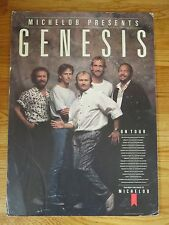 1987 MICHELOB Presents GENESIS On Tour Promotional Poster PHIL COLLINS