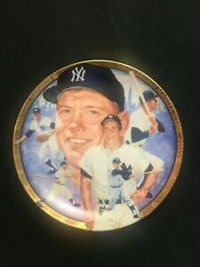 THE LEGENDARY MICKEY MANTLE PLATE ~BEST OF BASEBALL~ HAMILTON COLLECTION #44E