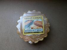 Yankee Candle Usa Exclusive Rare Banana Nutbread Wax Tart