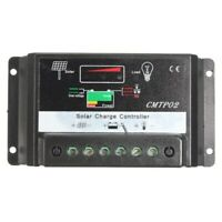 ContrôLeur de Charge de RéGulateur de Batterie de Panneau Solaire de 30A PW N8A9