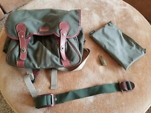 Hartmann Backpack/Messenger Bag Canvas and Leather Strap and Lock NEW Unused