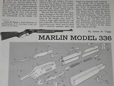 MARLIN MODEL 336 RIFLE EXPLODED VIEW