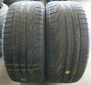2X 255/40/20 101 V 5-6mm M+S Pirelli SottoZero AO (Ref 151)