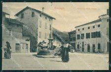 Pordenone Maniago Piazzetta della Posta Portatrici d'Acqua cartolina VK4531