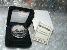 1999 Enviromint Back to Back Champions .999 Fine Silver Colorized Coin 1 of 500