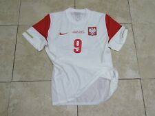 Lewandowski Poland Bayern Spieler Trikot Shirt Jersey Player Issue Match Un Worn