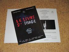 Jean-Luc Godard LE LIVRE D'IMAGE Pressbook CANNES 2018