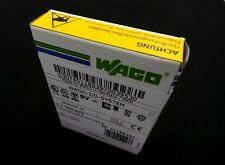 WAGO 750-479 2-CHANNEL ANALOG INPUT MODULE