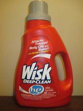 Wisk Deep Clean he Liquid Laundry Detergent 50 oz 33 Loads