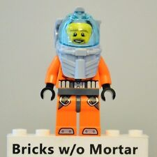 New Genuine LEGO Deep Sea Diver Minifig City 60095 60096