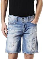 Brand new DIESEL BUSTSHORT 084CM Mens Denim Shorts, Cotton, Size: 29,30,31,33.
