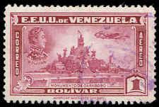 Scott # C140 - 1940 - ' Simon Bolivar and Carabobo Monument '