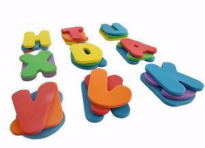 26 X Bath Letters Foam Set Baby Kids Water Toy Child Sticker ABC Foam Alphabet