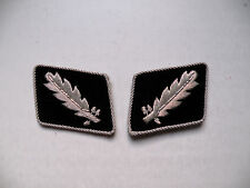 WW2 German Elite Officer Standartenführer (Colonel) Collar Tabs