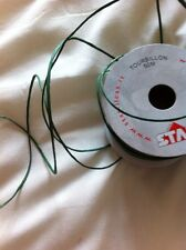 50m Full Roll Green Paper covered Flower Stem Wire Floral Craft Tourbillon