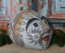 XL Size Old Style Traditional Face Bank Handmade Tonalá Pottery Mexican Folk Art