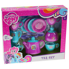 My Little Pony Children Kitchen Pretend Play Tea Party Toy Teapot Cups Playset