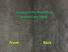 5.0oz Needle-Punched Compound Weed Barrier Fabric 5ft x300ft w/60 Pins