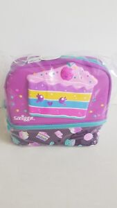 Smiggle Girl's Double Decker, Cake, Lunchbox With  Strap New With Tag $45.00