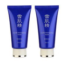 SET OF 2 KOSE Sekkisei Clear Whitening Mask 76ml Skincare Cleansing Mask #9259_2