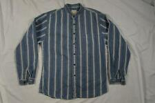 Wah Maker Button Up Shirt Old Western Collarless Sz Small Wabash 1800s 1900s