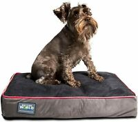 5-inch Thick Orthopedic Dog Bed | Pure Premium Shredded Memory Foam Washable