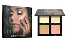 New Huda Beauty 3D Highlighter Palette GOLDEN SANDS ❤️PINK SANDS Edition Make up