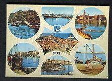 c1980s: Multiviews of SETE: Fishing Boats, Harbour: Coats of Arms