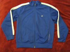 Sport wear Jacket Hollister Track Running Walking Bicycling Workout Gym Blue XL