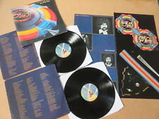 Electric Light Orchestra de la nada 2x Lp 1ST presionando & Cartel & Nave Espacial